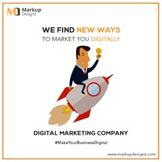 We find new ways to #Market you #Digitally ! #MarkupDesigns, the leading #Digital PR Agency in #India, offers innovative and creative digital #PR campaigns to promote your #business in the market.    #WebDevelopment #SEO #PPC #SMO