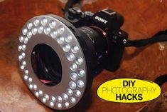 DIY Photography Hacks: how to make an LED ring light for less than £20