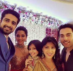 On-Screen Devar-Bhabhi To Real Life Lovers: TV Stars Avinash Sachdev And Shalmalee Desai Get Married - BollywoodShaadis.com