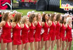 2014-2015 astate red wolves dancers
