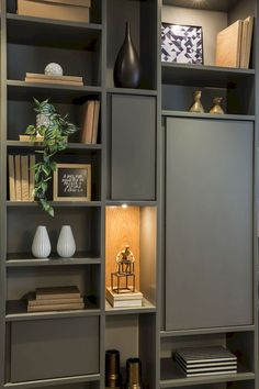 Home library furniture ikea billy ideas - Thuisdecoratie Home Library Design, Home Office Design, Home Office Decor, Home Interior Design, Home Decor, Library Ideas, Interior Livingroom, Muebles Home, Muebles Living