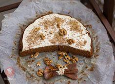 Mrkvový koláč s tvarohom