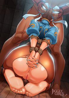 Big white bibble butt