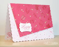 Small T Creations: So Happy For You Baby Card