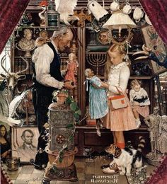 Norman Rockwell - April Fool, 1948 - Fine Art Print - Global Gallery