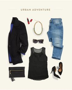 what-to-wear-summer-vacations-5  I love everything about this pic, and the versatility with traveling!!!!