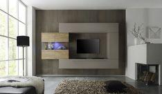 Laat jouw woonkamer schitteren met dit chique TV Wandmeubel Line Two aan de muur. Een prachtig woonkamer meubel dat tot leven is gebracht door de ontwerpers van het meubelmerk Benvenuto Design. Het TV wandmeubel is gemaakt van kwalitatief samengeperst hout en bestaat uit vier verschillende elementen die je op verschillende manieren kunt combineren. De drie beigekleurige kasten met matte afwerking zijn voorzien van metalen handvaten. De vierde kast heeft een naturel eikenhouten kleur en het…