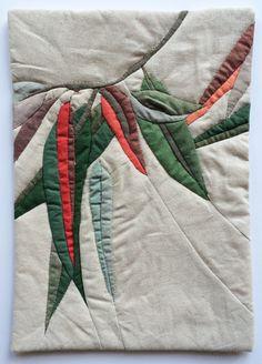 Ruth de Vos — Untitled eucalyptus art quilt 5