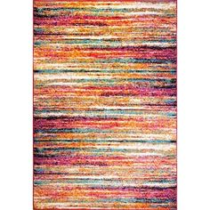 Shop for Home Dynamix Splash Collection Multi-Colored Machine Made Polypropylene Area Rug (5'2 x 7'2). Get free shipping at…