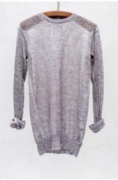 // knit linen