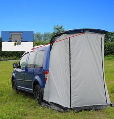 Reimo Vertic Cabin Tailgate Tent For Mini Campers - £99.00