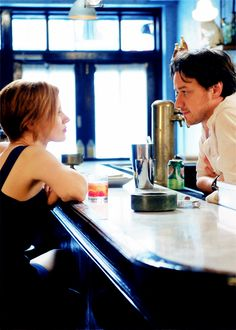 Jessica Chastain and James McAvoy still - The Disappearance of Eleanor Rigby