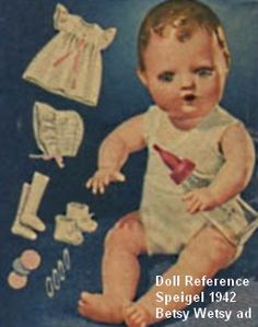 images of betsy wetsy | Spiegel 1942 Betsy Wetsy Doll ad