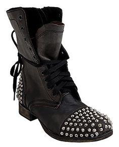 Want: Steve Madden Studded Biker Boots