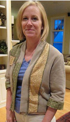 Maureen's great jacket...