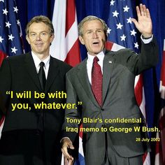 Memos sent by former UK Prime Minister Tony Blair to then US President George W Bush in the run-up to the Iraq War shine a light on the extent of the relationship between the two leaders.