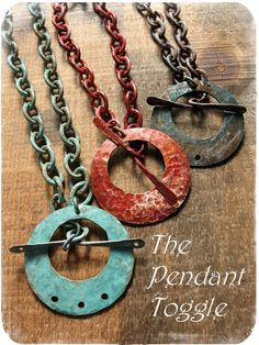 cool toggle pendants from Missficklemedia