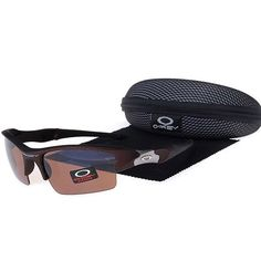 d0803da9e3 Oakley Flak Jacket Sunglasses Brown Lens Brown Frames-42387 Cheap Sunglasses