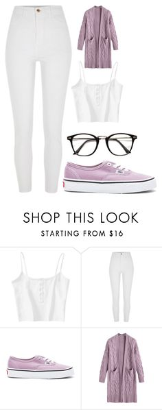 """""""Untitled #120"""" by kimmie-aiken on Polyvore featuring River Island and Vans"""