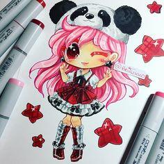 Panda Chibi Girl