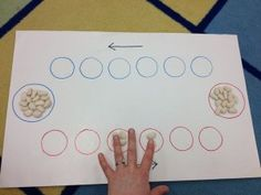mancala - great counting and strategy game for math!