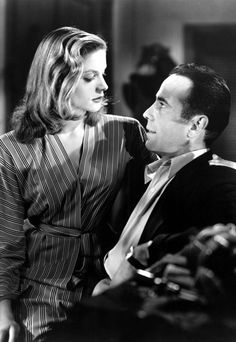 To Have and Have Not, Humphrey Bogart and Lauren Bacall.