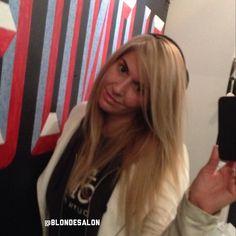 Hello #Blondtourage! xoxo Caitlin ❤️❤️ #selfie #me #love #blonde #longhair #extensions #hair #picoftheday #photooftheday #OOTD #instalike #instagood #bestoftheday #instafollow #girl #gorgeous #comeinwereblonde
