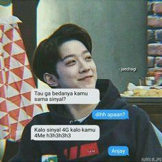 bby guanlin♡ Quotes Lucu, Jokes Quotes, Qoutes, Funny Quotes, Memes, Boyfriend Kpop, Get A Boyfriend, Text Pranks, Wallpaper Tumblr Lockscreen