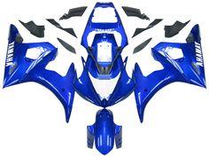 Mad Hornets - Fairings Yamaha YZF-R6 Blue R6 Racing (2003-2005), $549.99…