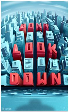 DONT.LOOK.DOWN on Behance
