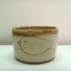 bowl w/ chicks // pottery / ceramics //