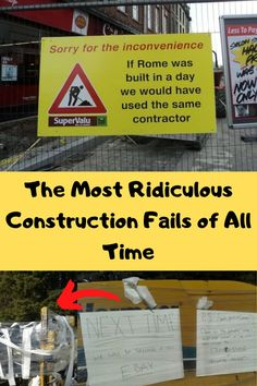 In some cities in the world, it seems like construction is taking place literally all the time. No sooner than one building is finished are people already adding more to it, building extensions or adding a new train line underneath.