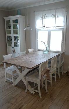 DIY lankkupöytä