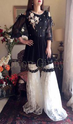 .. .. Pakistani Wedding Outfits, Pakistani Dresses Casual, Pakistani Dress Design, Indian Dresses, Stylish Dresses, Simple Dresses, Casual Dresses, Fashion Dresses, Designer Party Wear Dresses