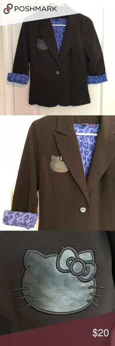 e3cd7c075 Shop Women's Hello Kitty Black Blue size MJ Blazers at a discounted price  at Poshmark.