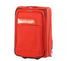 V4 ORIGINAL MEDIANA - La maleta llena de extras: en poliéster, forrada, con bolsillo de red y bolsillos zapateros en contrasolapa, bolsillo secreter, bolsa de PVC transparente y correas elásticas de sujeción. Extras exteriores: tarjetero, doble bolsillo frontal, refuerzo inferior y asa de ayuda de carga en la base. #pacomartinez #suitcase #luggage #equipaje #maletas