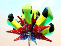 Shoes of Prey Carnivorous Flower installation by Stukel Stone » Retail Design Blog