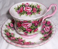royal albert teas of the year series | Vintage Royal Albert Frangrance Series Rosa by harmonycollectibles, $ ...