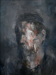 The Constant by Dillon Samuelson Abstract Portrait, Portrait Art, Abstract Art, Arte Horror, Horror Art, Painting Inspiration, Art Inspo, Dark Art Drawings, Creepy Art