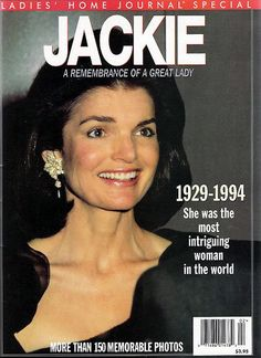 Ladies Home Journal Back Issue Jackie Kennedy