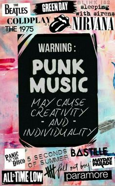 Paramore, 5 Seconds of Summer, Panic! at the Disco, Bastille, Coldplay, Fall Out Boy, and All Time Low