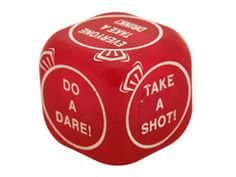 Party Dares, Hens Night, Dice, Take That, Games, Red, Cubes, Gaming, Plays