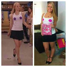 Diy college halloween costumes bing images my crafts pinterest regina george costume from mean girls solutioingenieria Gallery