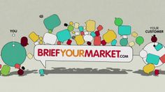 BriefYourMarket.com Animated Explainer Video. An animated explainer for briefyourmarket.com, created in Adobe After Effects