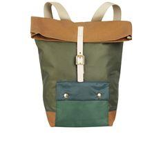 Tent Backpack - Racing Green