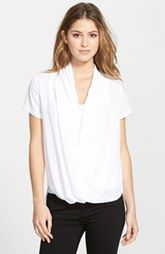 NYDJ Fit Solution Drape Front Top