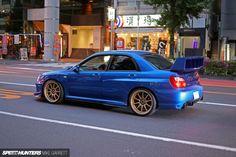 日本の車展示