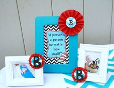 Dr. Seuss Thing 1 and Thing 2 1st Birthday Party for Twins | CatchMyParty.com