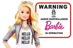 Well, this is pretty creepy. Did you know there is a Hello Barbie doll that listens to what children say and responds to them with voice recognition v...