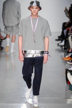 Shaun Samson Spring 2014 Menswear Collection Slideshow on Style.com